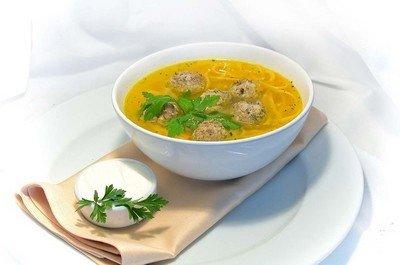 Сделаем из супа с фрикадельками пищевую «фантастику» для детей