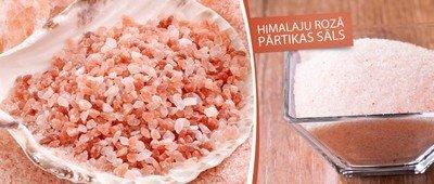 Розовая гималайская соль из Пакистана