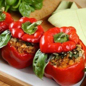 Простой рецепт приготовления фаршированного перца в духовке