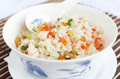 Рецепт приготовления риса с овощами на пару в мультиварке