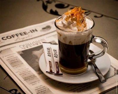 «Айриш» - алкогольный кофе со взбитыми сливками
