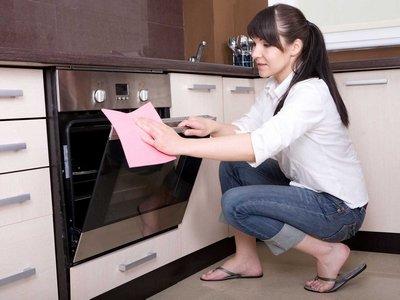 Дверцы в духовке и духовом шкафу должны быть чистыми