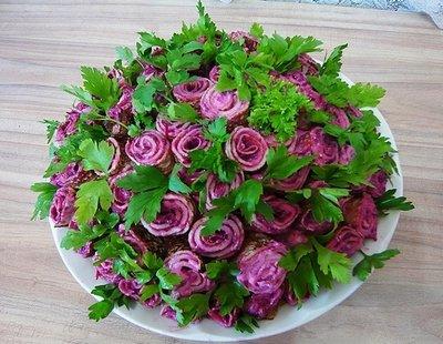 Как приготовить салат «Фиалка»