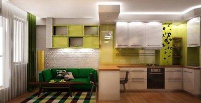 Зоны кухни «16 квадратов»
