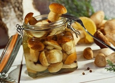 Заготовка маринованных грибов