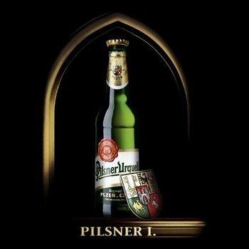 Бутылка пива Pilsner Urquell