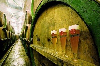 Пивоварня города Пльзень, где варят пиво Pilsner Urquell