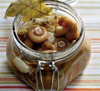 Заготовка соленых грибов