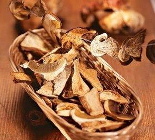 Заготовка сушеных грибов