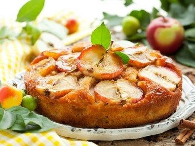 Как приготовить яблочный кекс с корицей «а-ля шарлотка»