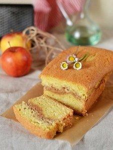 Рецепт приготовления яблочного кекса с корицей «а-ля шарлотка»
