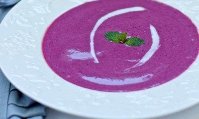 Как приготовить суп из ежевики с водкой