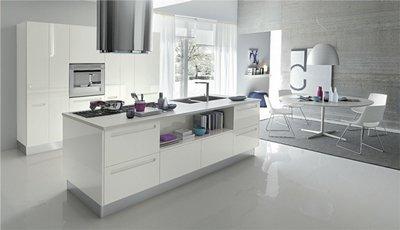 Как совместить современную кухню и столовую?