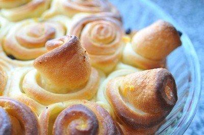 Рецепт приготовления апельсиновых булочек