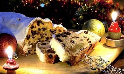 Классический западноевропейский рождественский пирог