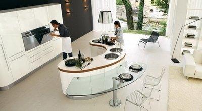 Какие существуют способы разделения зон в кухне-столовой