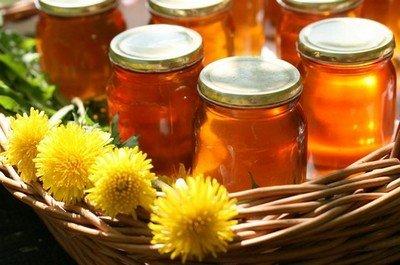Мед из одуванчиков - вегетарианский десерт