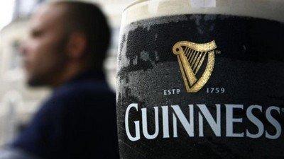Guinness - горькое темное ирландское пиво
