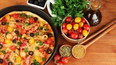 Как приготовить быстро-пиццу «One moment»