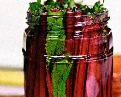 Рецепт приготовление квашеной свекольной ботвы