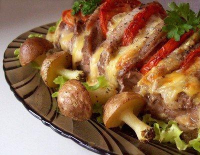 Рецепт одного вкусного мясного блюда домашнего приготовления