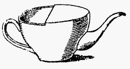 Чайник с вытянутым носиком для питья больных