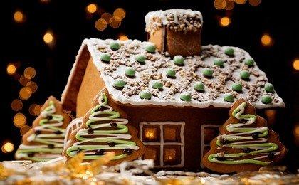 Как приготовить пряничный домик?