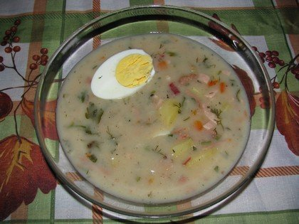 Рецепт приготовления закваски для белого борща «Жур»
