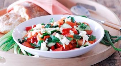 Рецепт приготовления салата «Шопский»