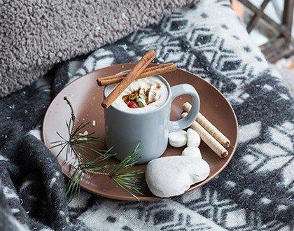 Каким напитком согреть организм зимой?