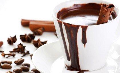 Горячий шоколад - напиток из какао