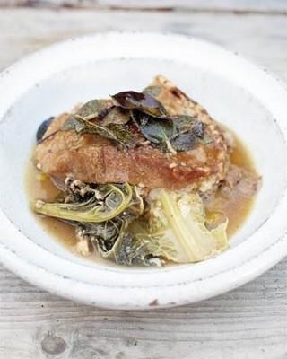 Рецепт итальянского супа из хлеба и капусты