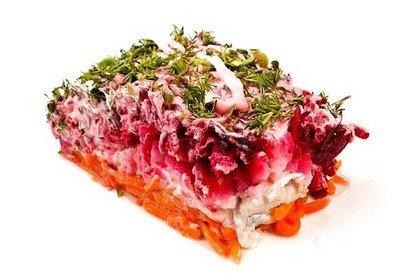 Рыбно-овощные салаты