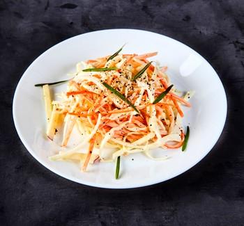 Рецепт колслоу из овощей