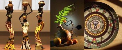 Декор для кухни в африканском стиле (фото)