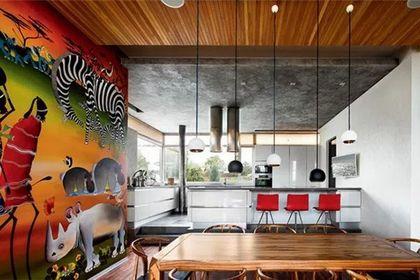 Фото кухни в африканском стиле