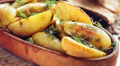 Сладкий картофель с кумином, лаймом и чили на гриле (фото)