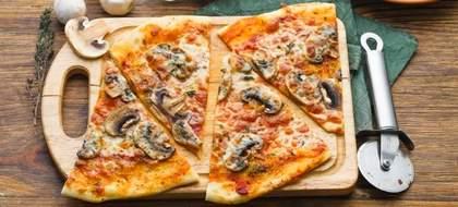 Начинка для пиццы с грибами (фото)