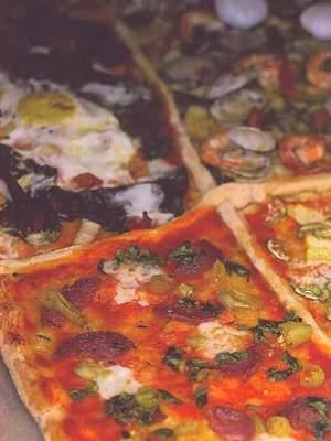 Рецепт приготовления пиццы «4 вкуса»