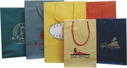 Бумажные пакеты с логотипом Стар Принт