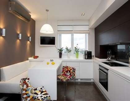 Современный дизайн классической кухни