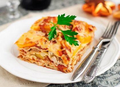 Рецепт лазаньи с сочным мясным фаршем