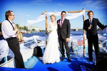 Особенности свадьбы на теплоходе