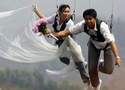 Как оригинально сыграть свадьбу