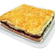Торт-закуска «Соленый Наполеон»