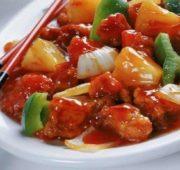 Курица по-тайски с остро-сладким соусом