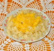 Макароны «Гребешки» с сыром