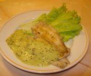 Рыба с киви