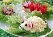 Сырная закуска «Мышки» на Новый год 2014