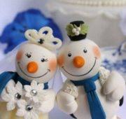 Новогодний торт для детей «Волшебный снеговик»